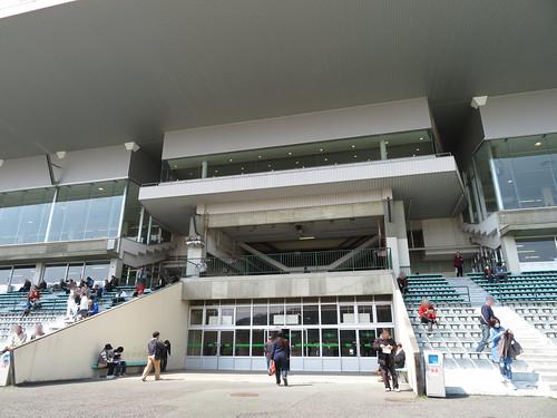 佐賀競馬場のロイヤル席の位置
