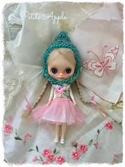 My first Petite Blythe custom