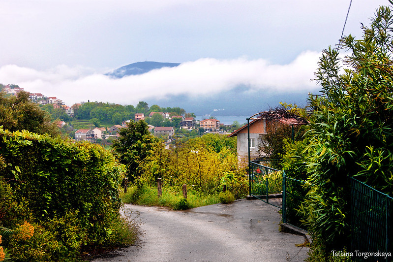 Пейзаж на окраине Херцег Нови