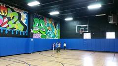 Basketball At Julian's Party