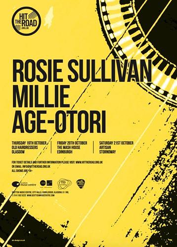 Hit The Road Tour, 19-21 October 2017, Age-Otori, Rosie Sullivan, Millie