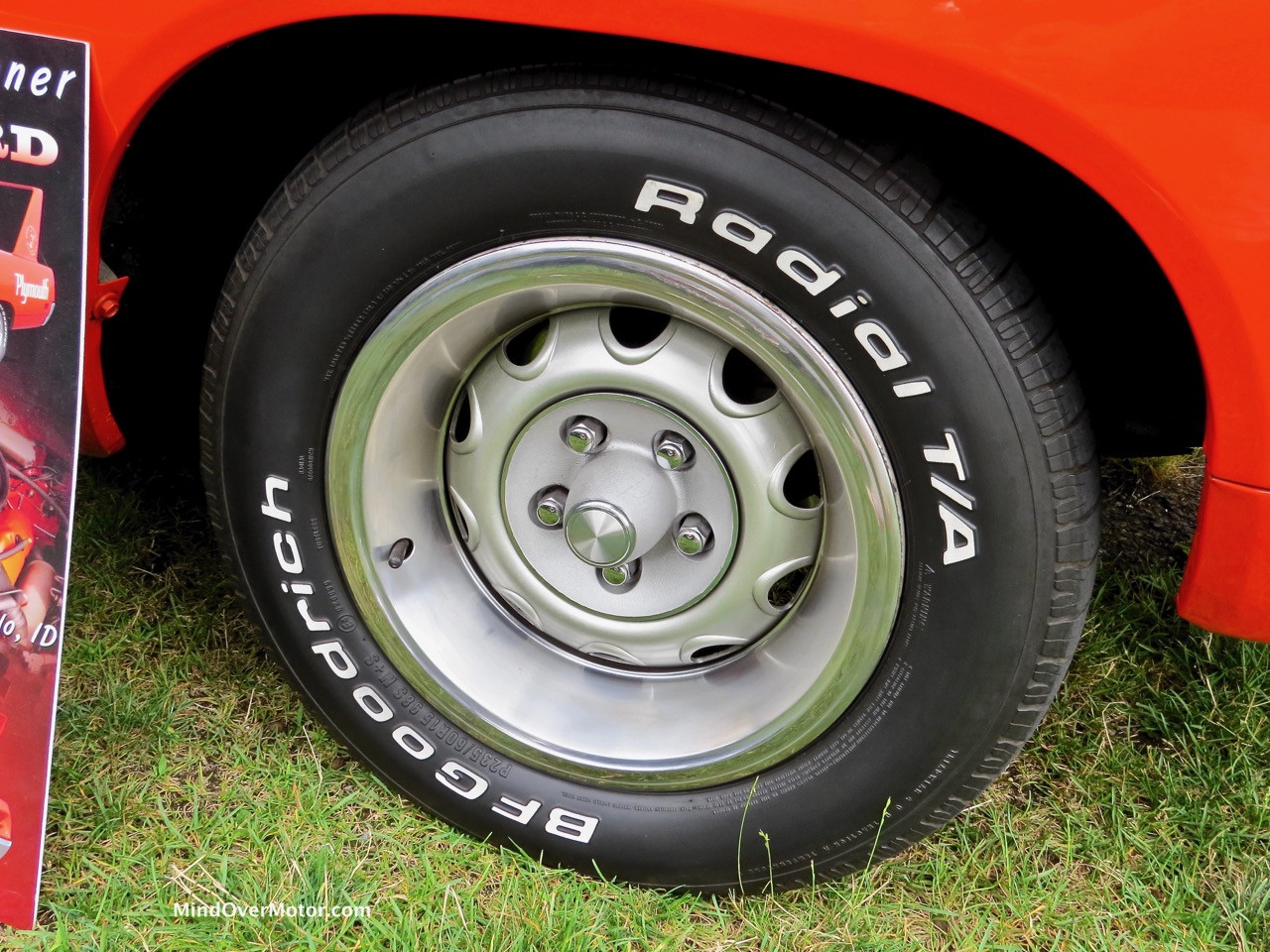 1970 Torred Superbird Tire and Wheel