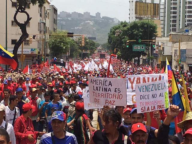Após fala de Trump, movimentos realizam atos em apoio à Venezuela em todo o Brasil