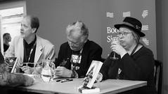 Edinburgh International Book Festival 2017 - Farah Mendlesohn Adam Roberts Jo Walton & Ken MacLeod 08