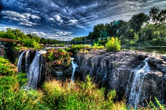 I Am The River from Which Your Blood Flows! (Paterson Falls 2, New Jersey HDR)