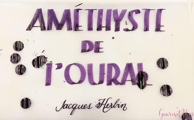 Ink Shot Review Jacques Herbin 1798 Améthyste de l'Oural 24