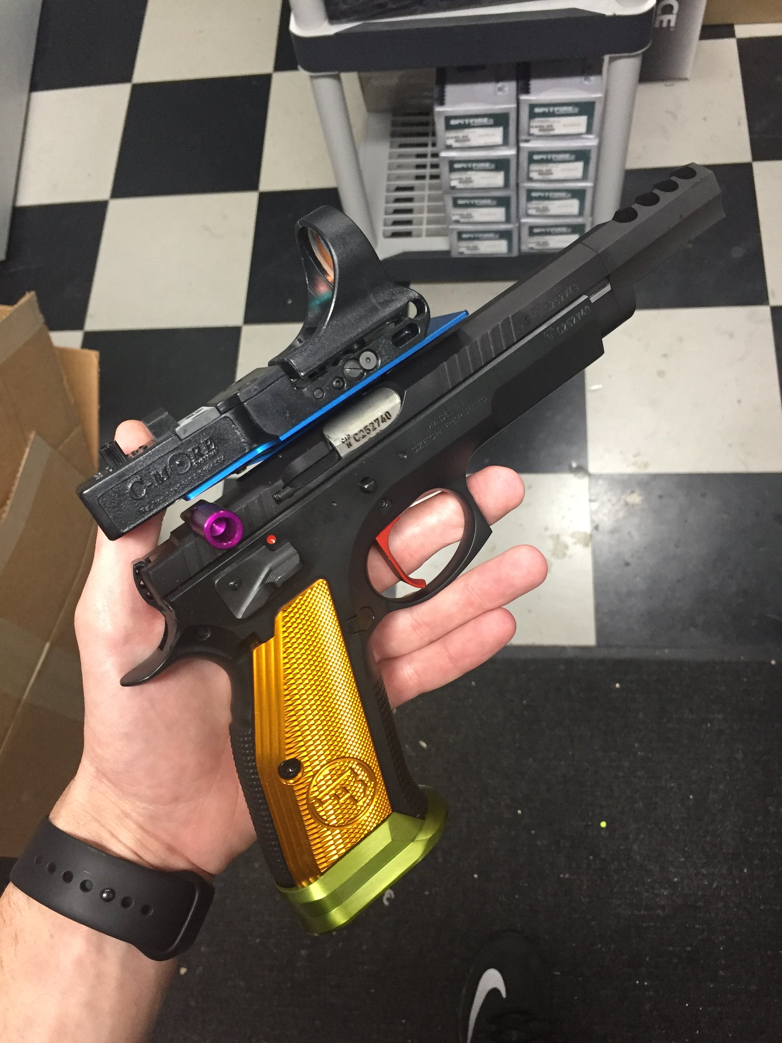 Strikers range reviews, CZ Custom TS Czechmate - 1911Forum