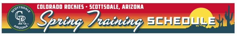 Spring Training Banner