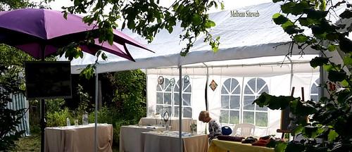 L'atelier d'Abeline reçoit au jardin