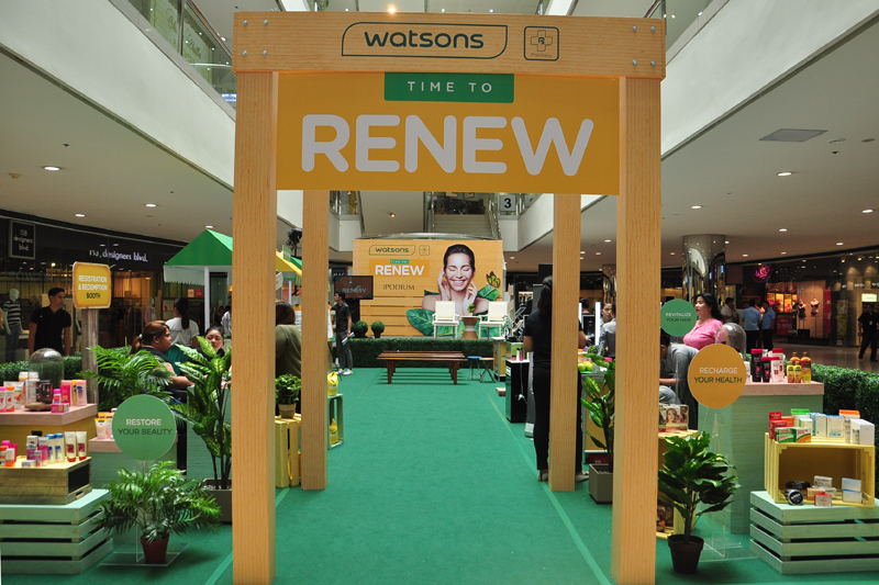 Watsons Time To Renew