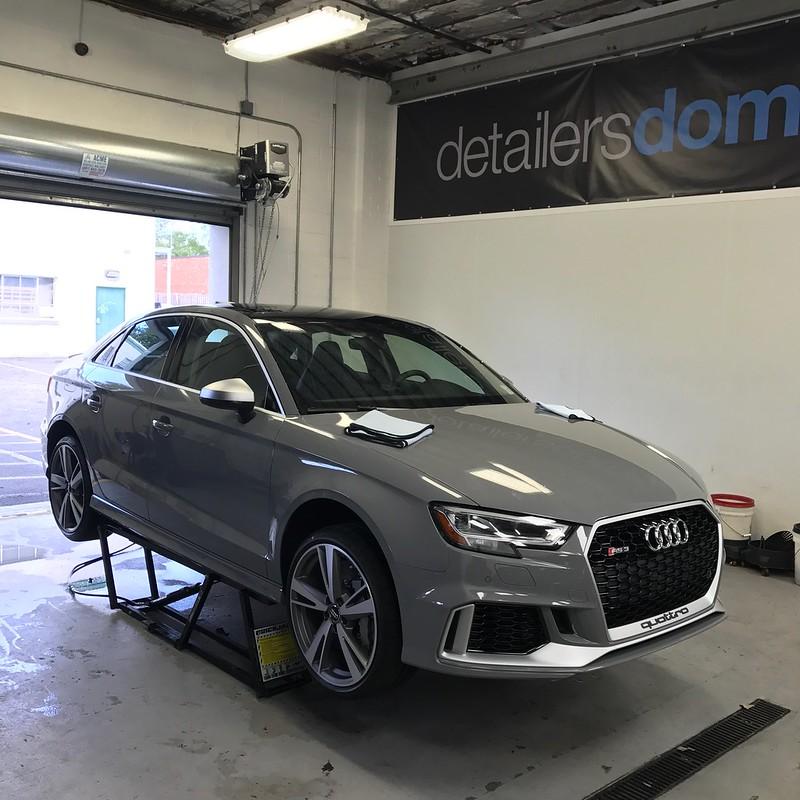 Project Car 2018 Audi Rs3 Full Car Wrap And Nanolex Si3d Hd