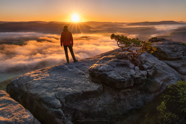 lilienstein sunrise