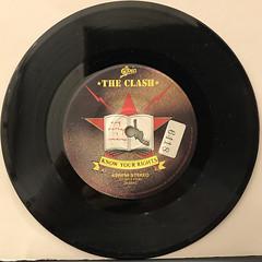 THE CLASH:KNOW YOUR RIGHTS(RECORD SIDE-A)