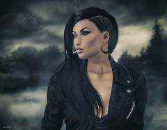 The tough girl.... ;)