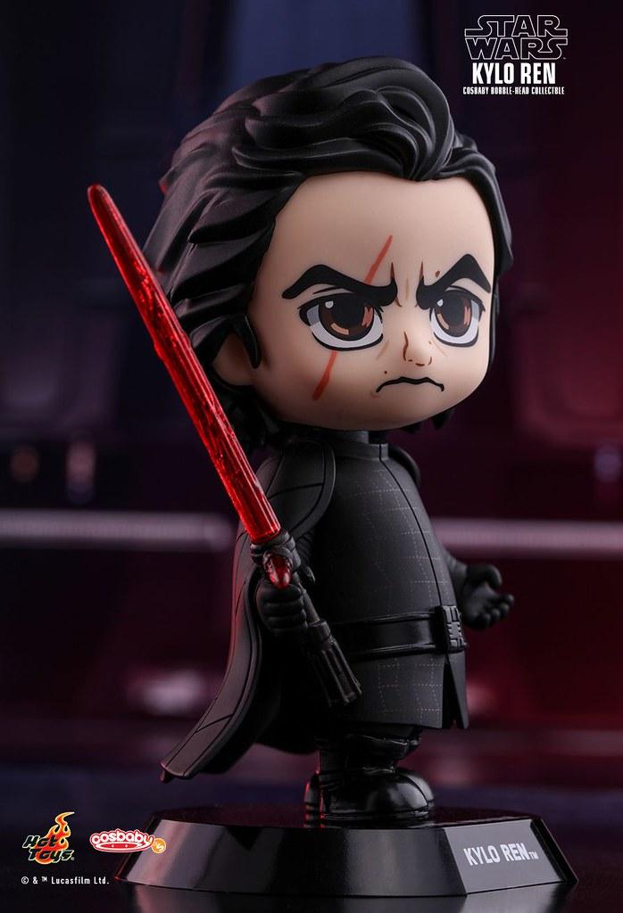 大家都這麼可愛,實在不忍心看到你們決一死戰啊~~Hot Toys - COSB407-414【星際大戰八部曲:最後的絕地武士】Star Wars: The Last Jedi Cosbaby Collectible Set