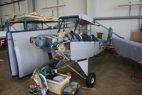 G-OFFA Pietenpol Air Camper [PFA 047-13181] Turweston 010917