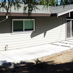 Backyard Concrete Completed In Davis