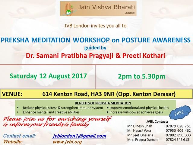 2017.08.12 JVB London Preksha Meditation