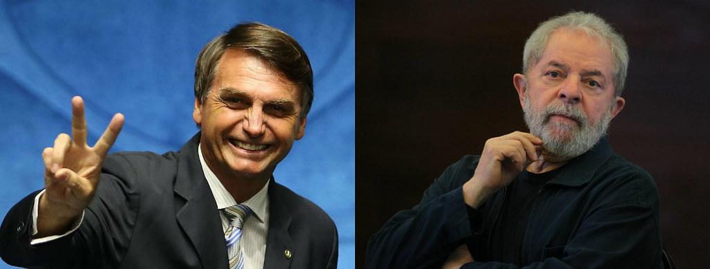Lula e Bolsonaro estão empatados no Pará, segundo pesquisa da Doxa, Bolsonaro e Lula