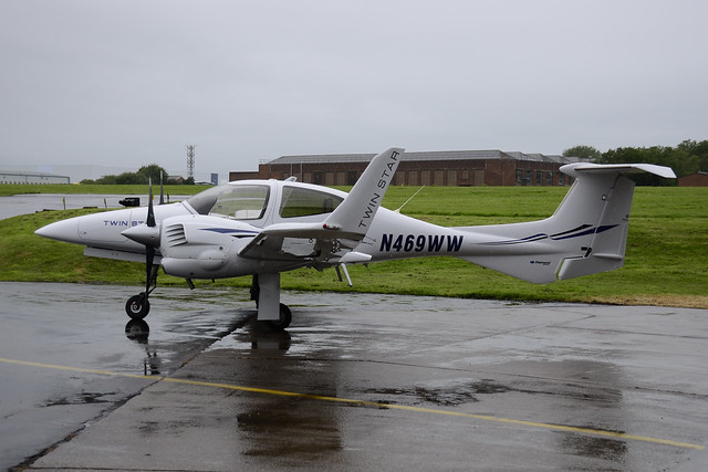 N469WW Diamond DA-42 Twin Star