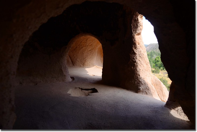 Cliff Dwellings at the Bandelier National Monument (6)