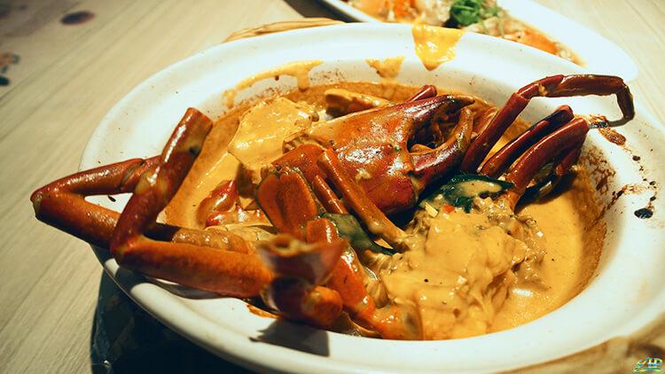 crab tasting buffet
