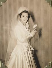 Honeymoon album: Clara 1950, the Bronx