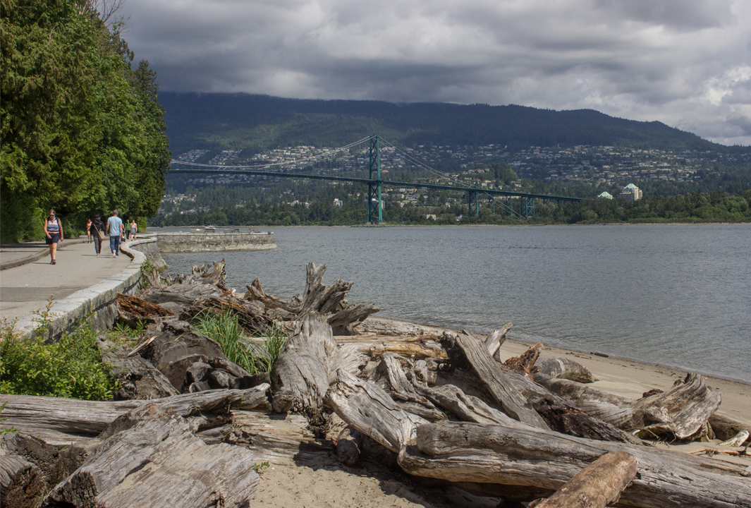 How Vancouver won us over - view from Stanley Park