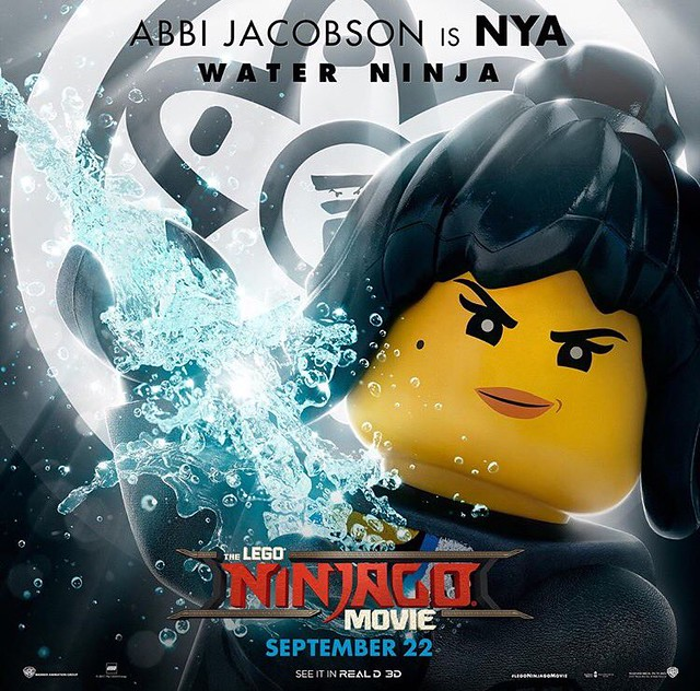 Plakaty postaci z The LEGO Ninjago Movie 8