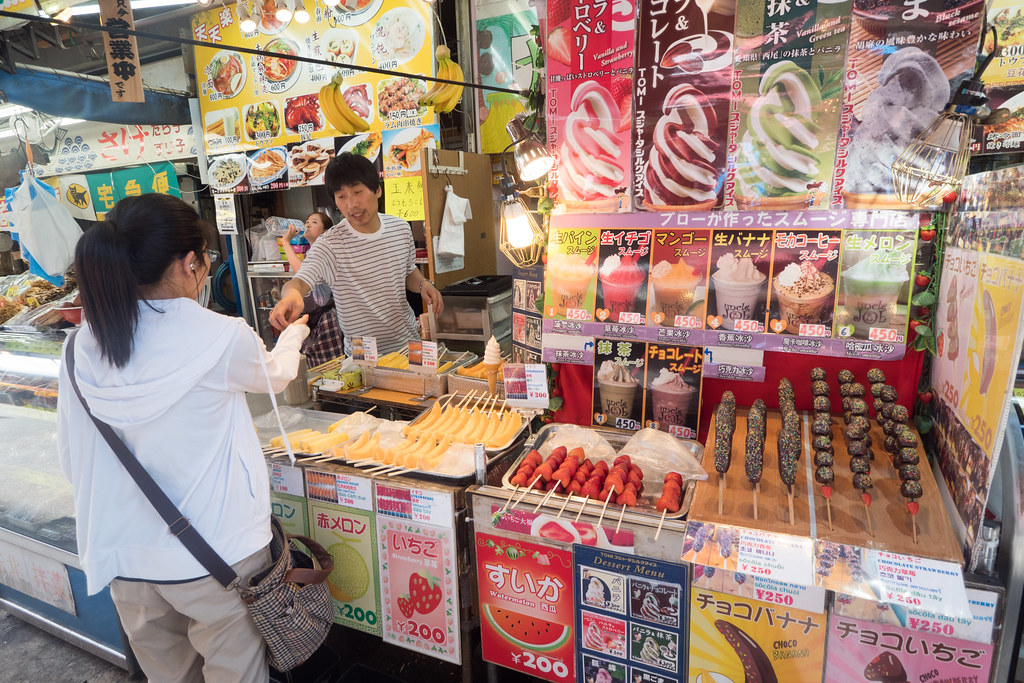 Sucré sweety..Street food In Tokyo