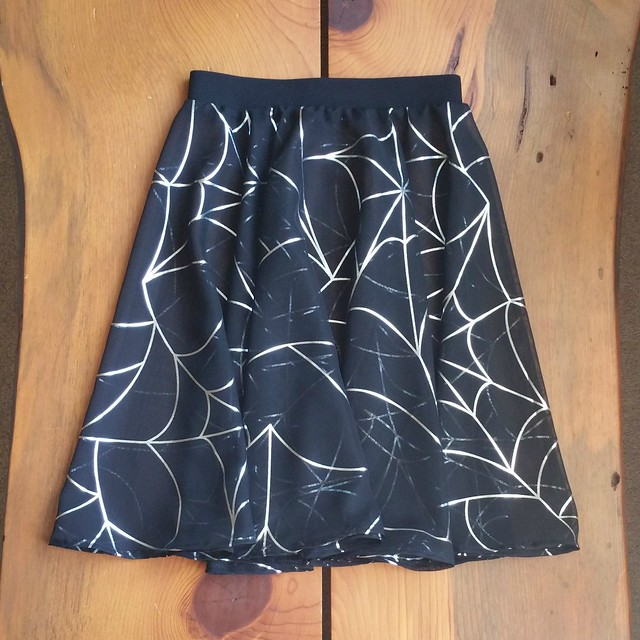 Spider Web Circle Skirt | shirley shirley bo birley Blog
