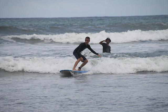 Aaron Surfing, Playa Guiones