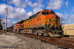 BNSF 4378 | GE C44-9W | BNSF Thayer South Subdivision
