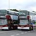 469 - SF17 VND, 457 - SJ66 LPY - Lothian Buses by StreetwiseFife