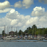 Clouds over the Marina