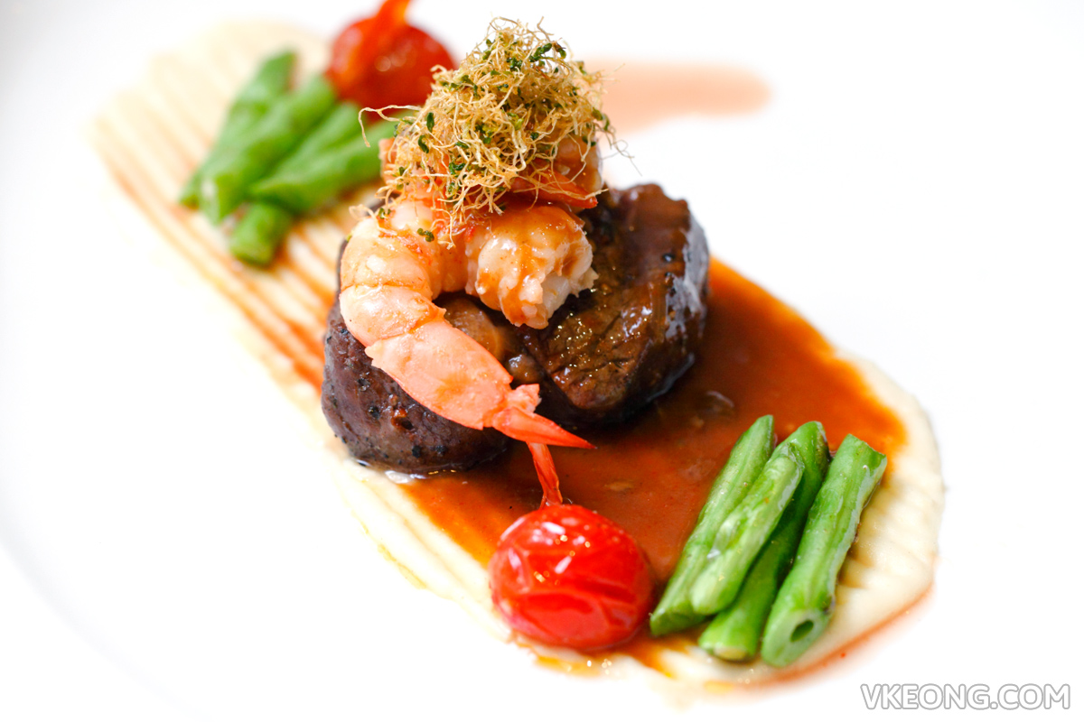 TGV Indulge Miami Shrimp with Beef Tender