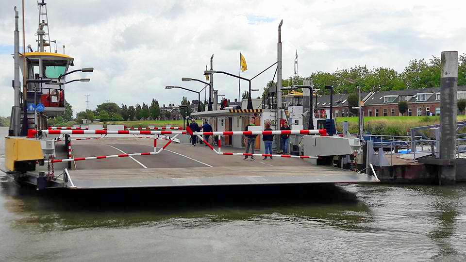 Nieuwe Veerpont per 1 september 2017