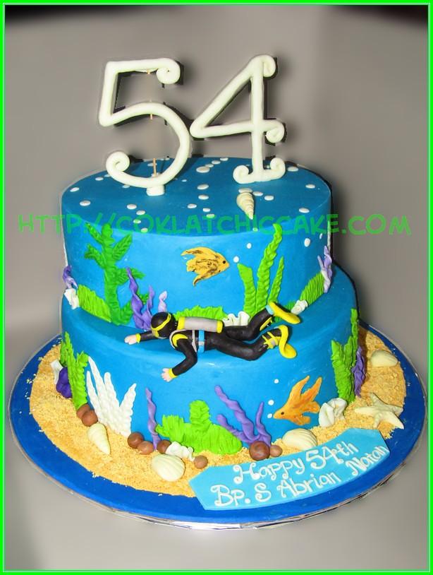 cake diving