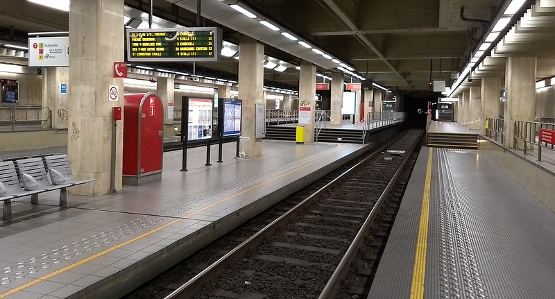 Pre-metro station, Brussels