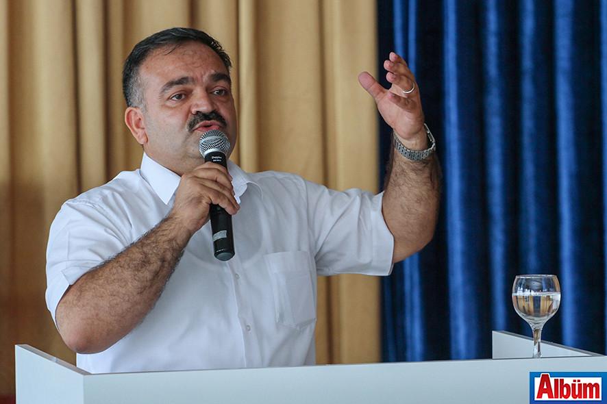 Mustafa Tuna, iş dünyasını buluşturdu