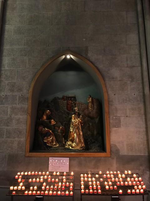 Opferlichter in der Stiftskirche Admont
