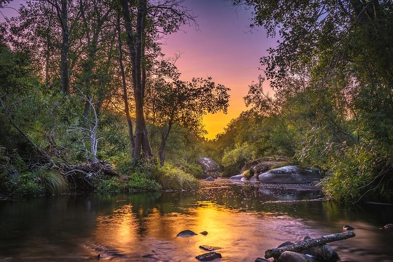 Sunset Rio Paiva