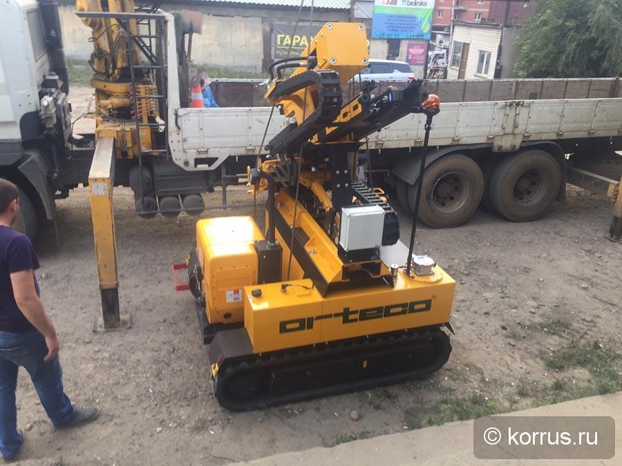 Покупателю из Иркутской области отгружена самоходная сваебойная машина ORTECO BTP SMART