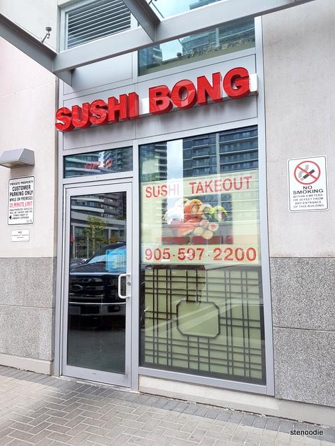 Sushi Bong storefront