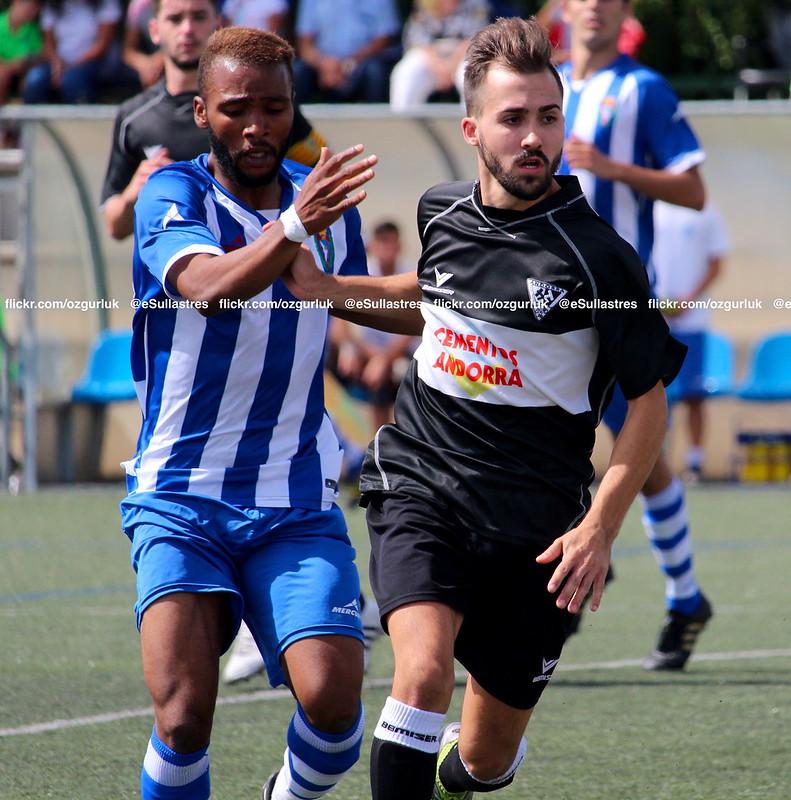 Atlético Escalerillas 1-3 Andorra