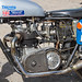 Lydden Hill August 2016 Paddock Sidecar Triumph T21 No 53 001A