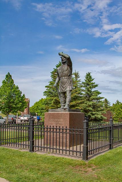 Lief Erikson Statue