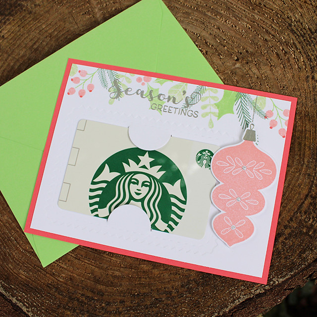 Season's Greetings Gift Card Holder