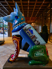 """K9s for Cops Public Art Campaign - """"Chicago Doggo"""" by Alexys Fleming - Madeyewlook"""