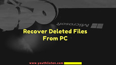 Recover Deleted files from PC